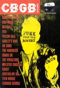 Cbgb's: Punk From The Bowery