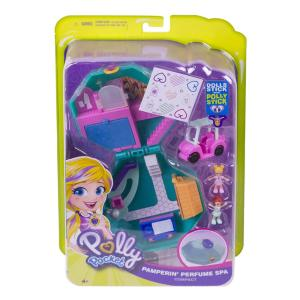 Mattel GDK81 - Polly Pocket - Playset Tascabile - Spa