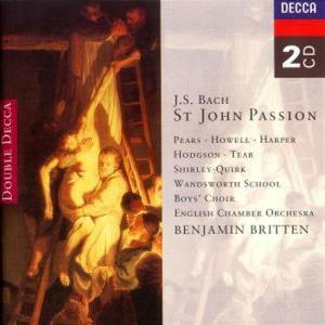 Johann Sebastian Bach - Passione S. Giovanni (2 Cd)