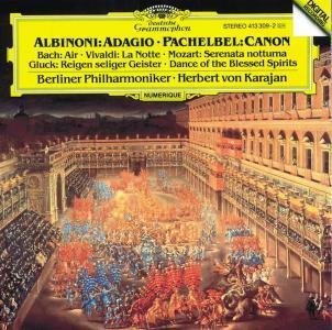 Herbert Von Karajan / Berliner Philharmoniker - Adagio: Albinoni, Pachelbel, Bach, Vivaldi, Mozart..