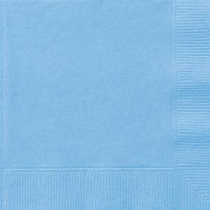 20 Tovaglioli Blu Pastello