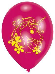 Amscan: Palloncini Unicorno (6 Pezzi)