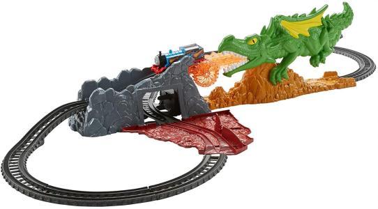 Mattel FXX66 - Il Trenino Thomas - Track Master - Fuga Dal Dragone