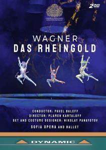 Baleff,P./Orchestra Of The Sofia Opera & Ballet - Das Rheingold (2 Dvd)