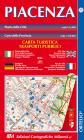 Piacenza. Mappa Della Città E Provincia 1:13.000. Ediz. Italiana, Inglese, Tedesca E Francese