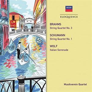 Johannes Brahms / Robert Schumann / Hugo Wolf - String Quartet 3 / String Quartet 1 / Italian Serenade